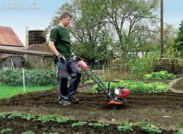 Немного о садовой технике