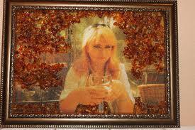 Портрет из янтаря – лучший подарок