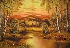 Картины из янтаря - изумительно красиво!