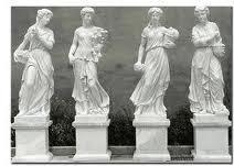 Ритуальные скульптуры.
