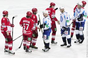 Хоккеисты Спартака сдаваться не немерены