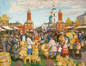 Предновогодняя ярмарка производителей Беларуси