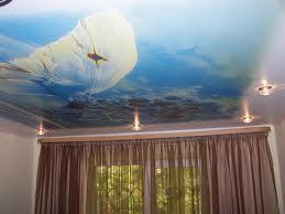 Натяжные потолки - идеальный материл