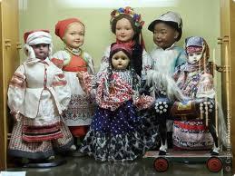В киевском Государственном музее игрушки открылась выставка «Кукольные истории»
