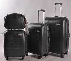 В чем преимущества комплекта чемоданов?