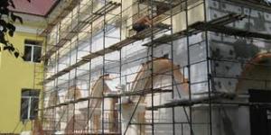Строительные леса - незаменимый помощник строителя