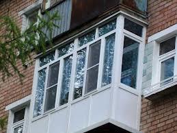 Остекление балконов в Хрущёвке