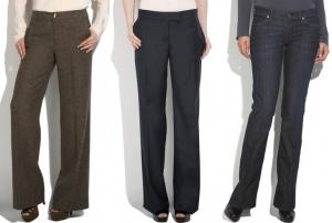 Истрия женских брюк