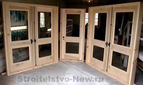 Дверные блоки деревянные