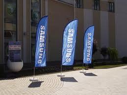 Рекламные флаги - это не только имидж компании