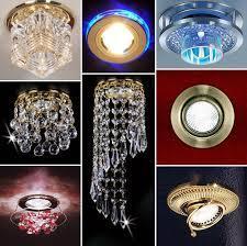 Для каждого интерьера подбираются разные светильники