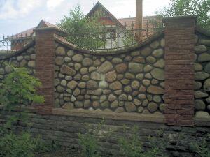 Надежная ограда для дома
