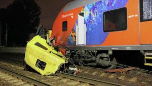 Авария на железнодорожной платформе «Карачарово» обошлась без жертв