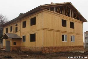 В Бугульме строится дом по немецкой технологии