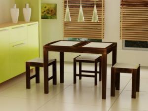 Кухонный стол - незаменимый мебельный элемент.