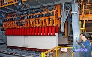 Первая партия продукции ОАО 'Оршастройматериалы' была экспортирована в Латвию.